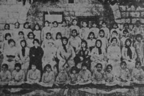 Armenian orphans from Aleppo – 1917