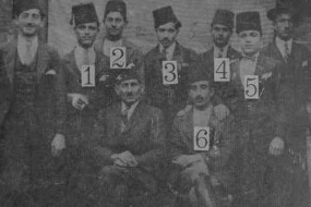 Armenian orphans in Ourfa – 1921