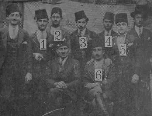Armenian orphans in Ourfa – 1921