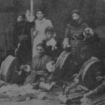 Armenian women spinning in Aleppo - 1924
