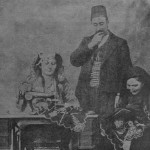 Mr and Mrs Ghazar Dabbaghian in Severag - 1910