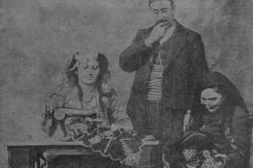 Mr and Mrs Ghazar Dabbaghian in Severag – 1910