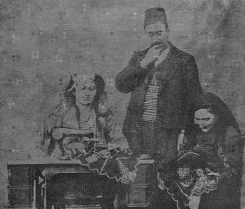 Mr and Mrs Ghazar Dabbaghian in Severag – 1910