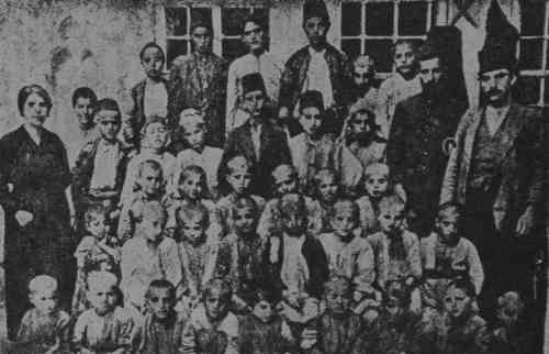 Orphans in Der Zor – 1917