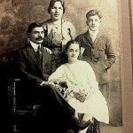 Sarkis Malkasian family in Whitinsville - 1922