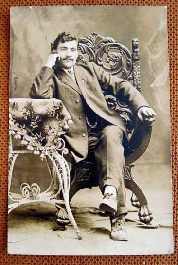Unknown Armenian man – Mezire 1910