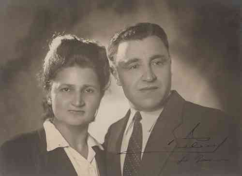 Hripsime and Kevork Donabedian from Malatia