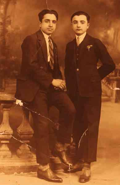Yervant and Krikor Tavitian in Valence – France