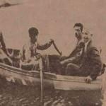 Tovmas Arabian with his wife in Ourfa - 1956