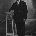 Stepan Koussamanoukian in Pont-de-Cheruy, France - 1930