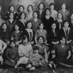 Armenian women from Malatia. Photographed in France