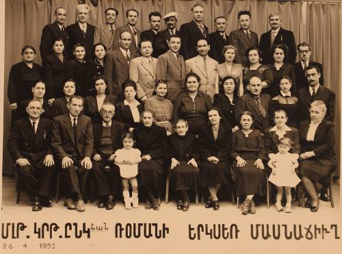 Association of the Armenians from Malatia – 1953