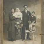 Dikran Baghtchedjian with his wife Rose Taspasian - Marseille 1927