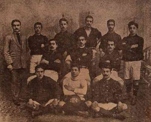 The Armenian Union Sportive Dork in Bolis – 1911