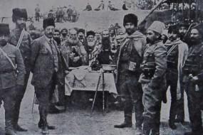 Armenian Hnchakian volunteers