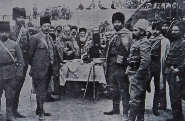 Armenian Hnchakian volunteers
