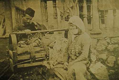 Armenian family from Zangezur