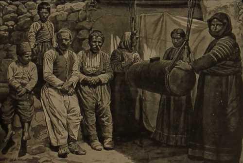 Armenian villagers – 1906