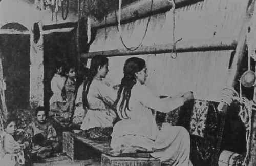 Carpet workshop in Kula