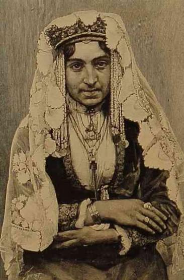 Armenian woman – Akhaltsikh 1892