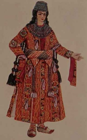 Armenian costume of Chatakh