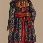 Armenian costume of Agulis