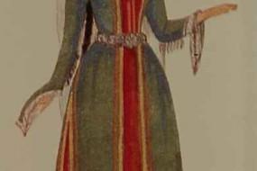 Armenian costume of Zangezur