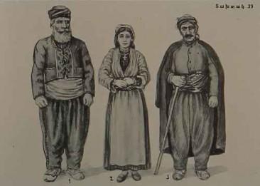 Armenian costumes of Garin and Mush
