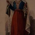 Armenian costume of Gyumri