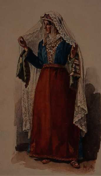 Armenian costume of Gyumri