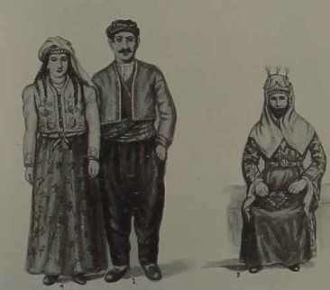 Armenian costumes of Marash and Sevaz