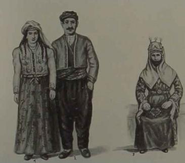 Armenian costumes of Marash and Sevaz
