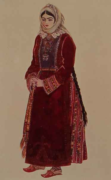 Armenian costume of Partsr Hayk