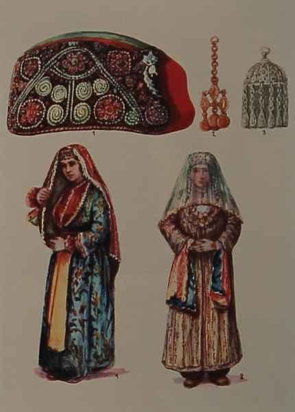 Armenian costumes of Tabriz and Partsr Hayk