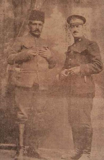 Armenag Yegarian with Jim Chankalian