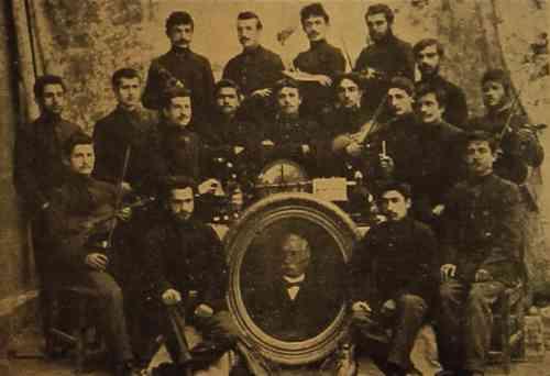 Sanassarian school in Garin – 1905