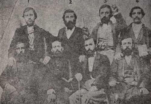 Armenian Badveli during a mission in Kharpert