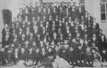 Schoolboys of the Malatia Educational Society in Aleppo – 1924
