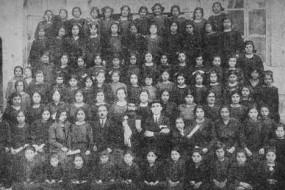 Schoolgirls of the Malatia Educational Society in Aleppo – 1924