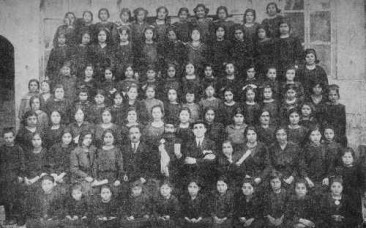 Schoolgirls of the Malatia Educational Society in Aleppo – 1924