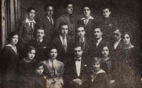 Students of the Malatia Educational Society in Aleppo – 1927