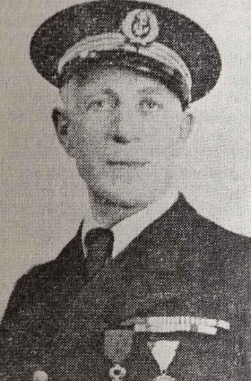 Diran Tekeyan, an officer on the cruiser Guichen