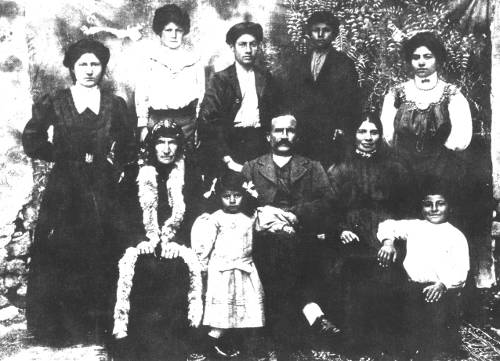Kurkdjian family from Kharpert – 1912