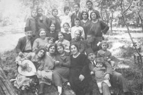 Armenians from Kharpert having a picnic in Lebanon – 1923