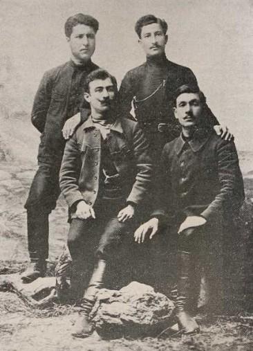 Armenian foundrymen from Tiflis