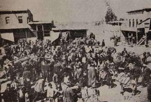 Bazaar of Arark in Van