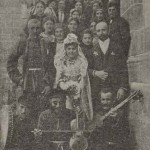 Wedding party in Gyumri