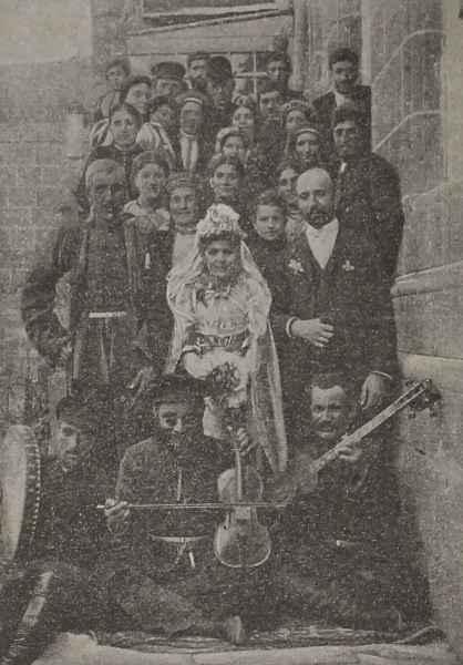 Wedding party in Aleksandropol