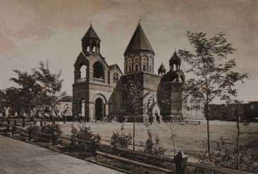 Etchmiadzin – The Great Court and the Cathedral