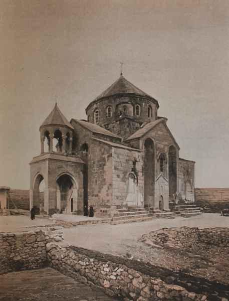 Etchmiadzin Exterior of Saint Hripsime